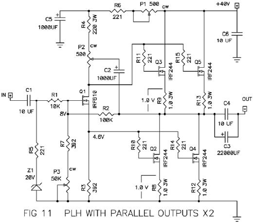 passdiy, Wiring schematic